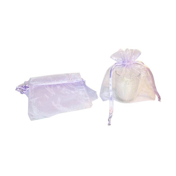 "3"" Lavender Organza Pouch"