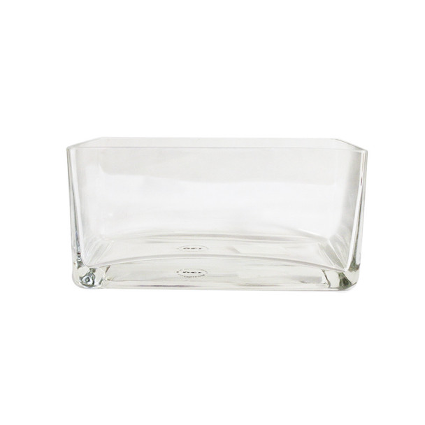 """4"""" Rectangular Glass Vase"""