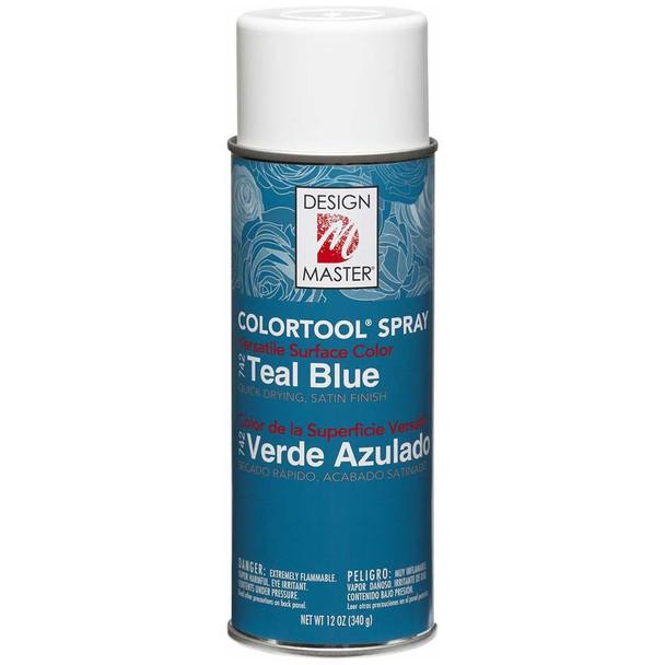 Teal Blue Color Spray