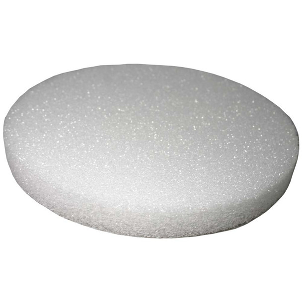 "6"" x 1"" Styrofoam Disc"