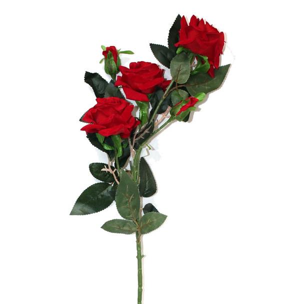 """35"""" Red Velvet Long Stem Rose Flower"""