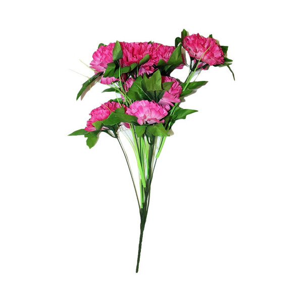 "18"" Fuchsia Branch  Carnation Flower"