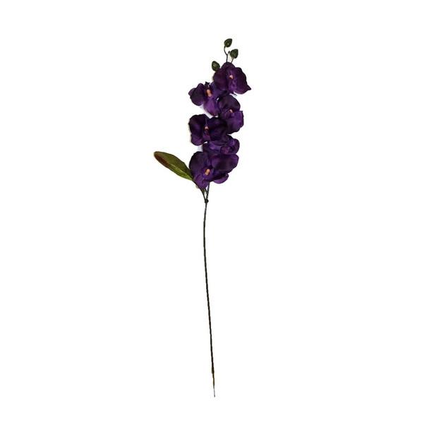 "28"" Stem Full Orchids. Purple"