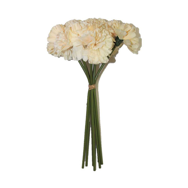 "12"" Bunch 8 Stems Of Carnation."