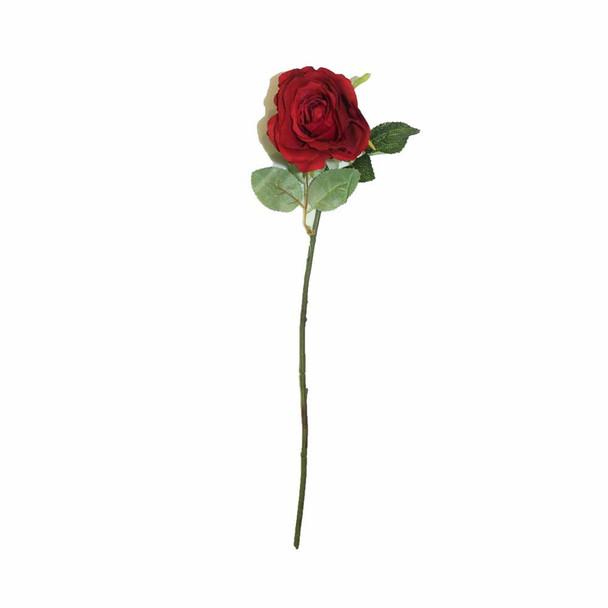 """21"""" Red Long Stem Single Rose Flower"""