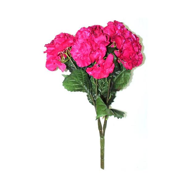 Artificial Hydrangea 5 Stems. Pink