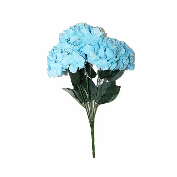 "20""  Hydrangea 6 Stems. Blue"