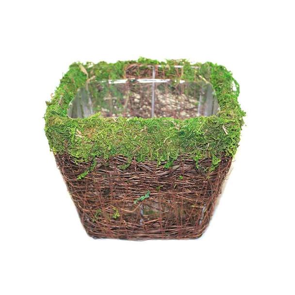 Square Moss Planter
