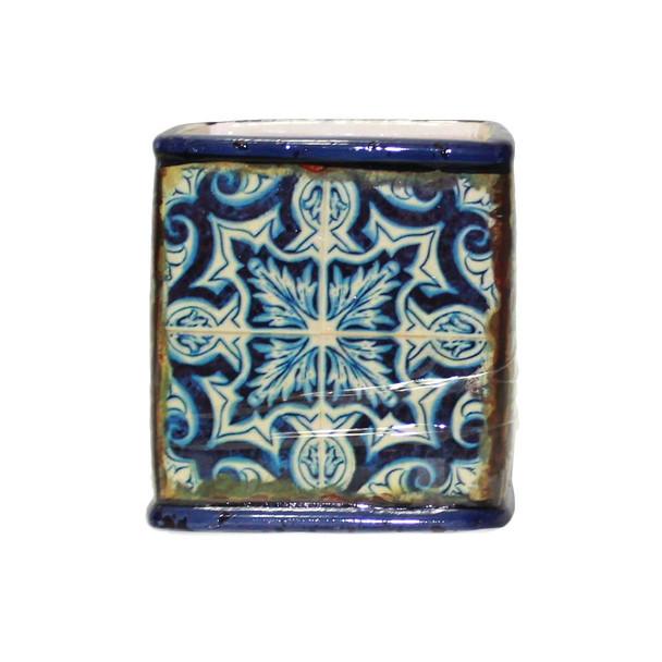 """4"""" Mosaic Ceramic Cube"""
