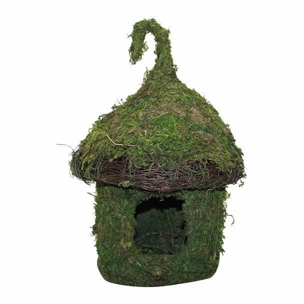 Bungalow Moss Birdhouse