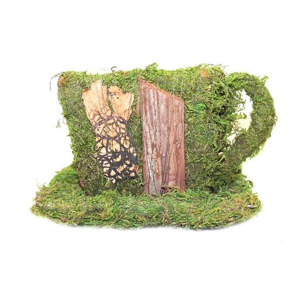 Moss and Bark Teacup