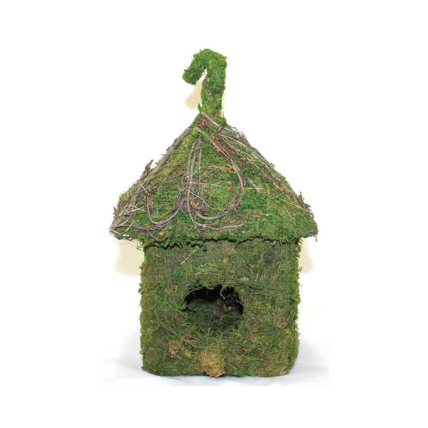 Shack Moss Birdhouse