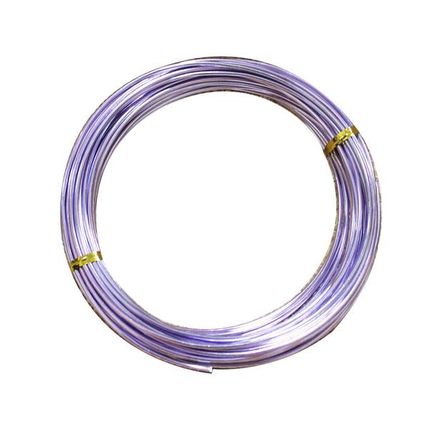 15 Gauge Lavender Decorative  Wire 39 Ft
