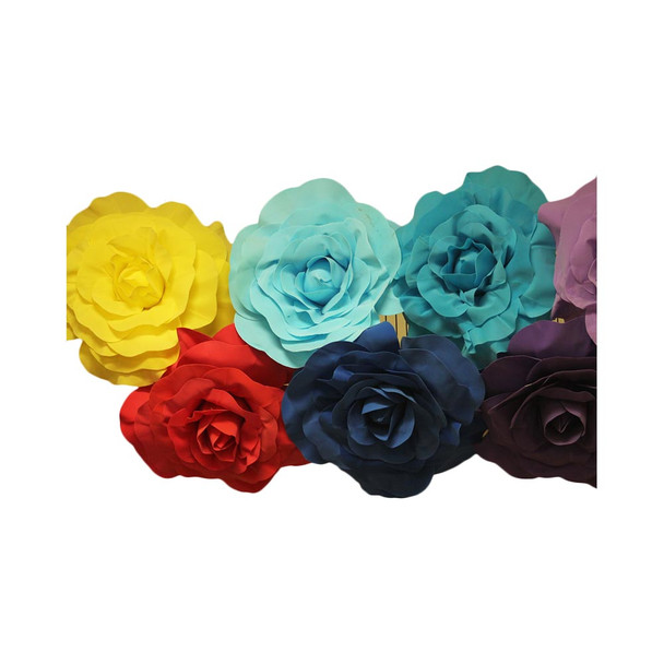 "20"" Assorted Colors Foamy Flowers (Read Description)"