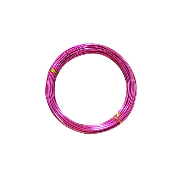 15 Gauge Fuchsia Decorative Wire 39 Ft