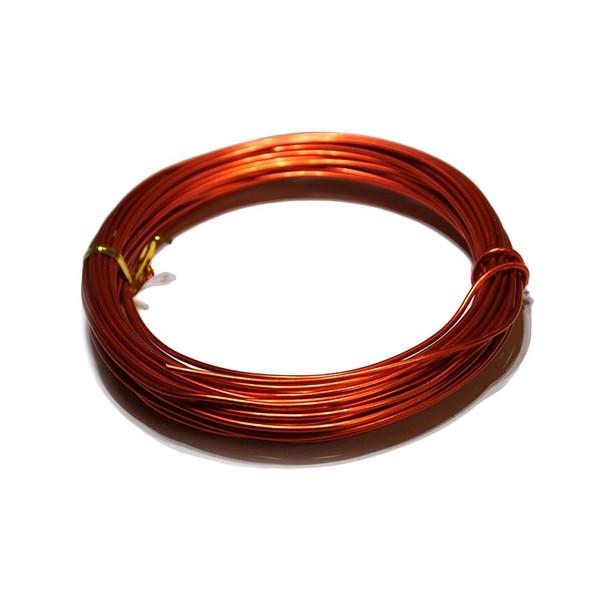 15 Gauge Red/Orange Decorative Wire 39 Ft