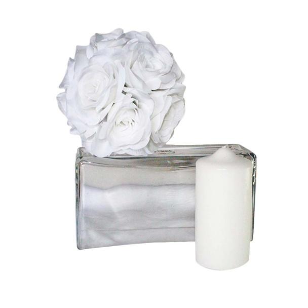 "3"" x 6"" White Pillar Candle"
