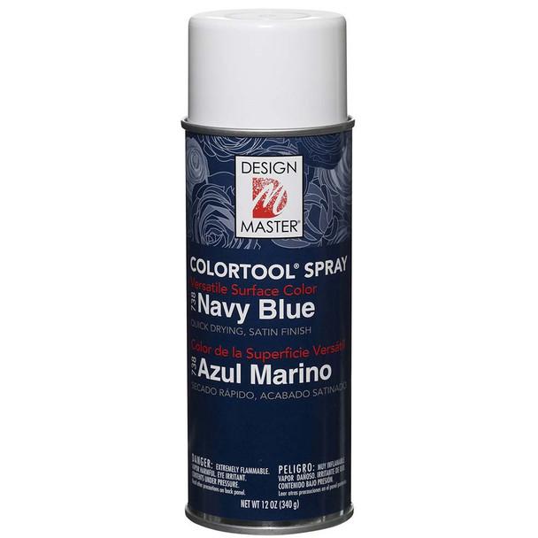 Navy Blue Color Spray