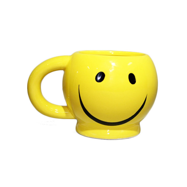 "2"" Happy Face Mug"