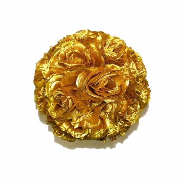 """10"""" Golden Flower Ball"""