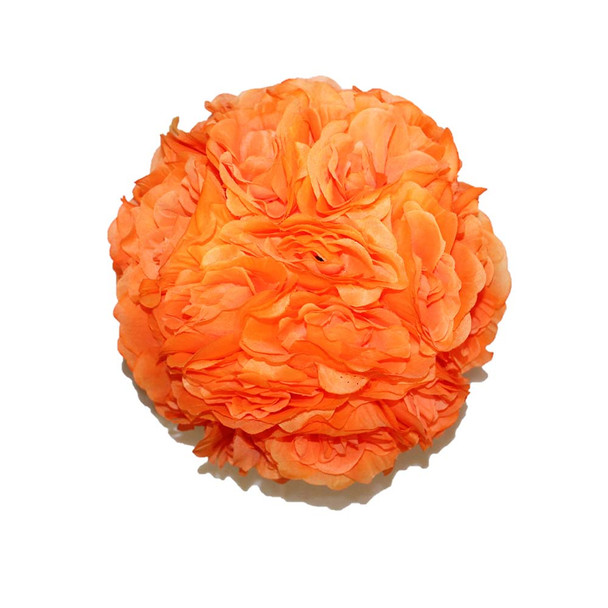 "10"" Orange Flower Ball"