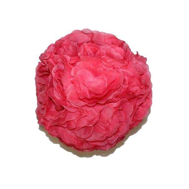 """10"""" Pink Flower Ball"""