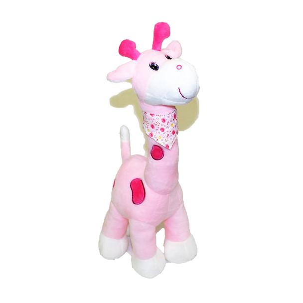 "15"" Pink Cute Giraffe"