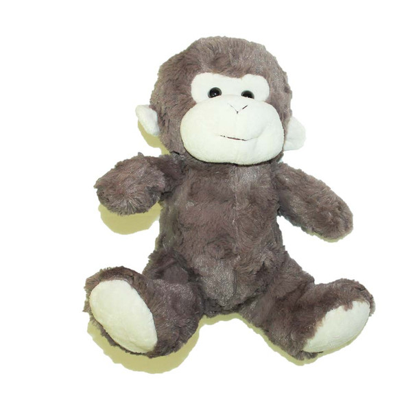 "10"" Brown Plush Baby Monkey"
