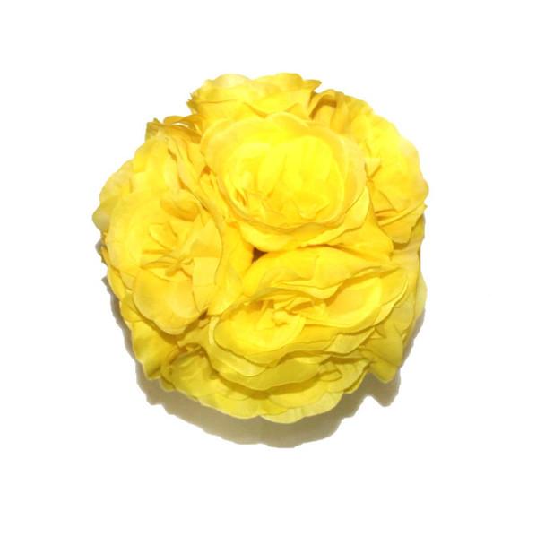 """7"""" Yellow Flower Ball"""