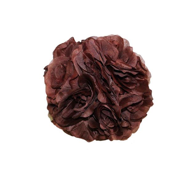 """7"""" Brown Flower Ball"""