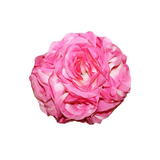"""7"""" Pink  Flower Ball"""