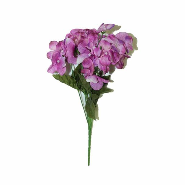 """14""""  Lavender Hydrangea Bunch Flower"""
