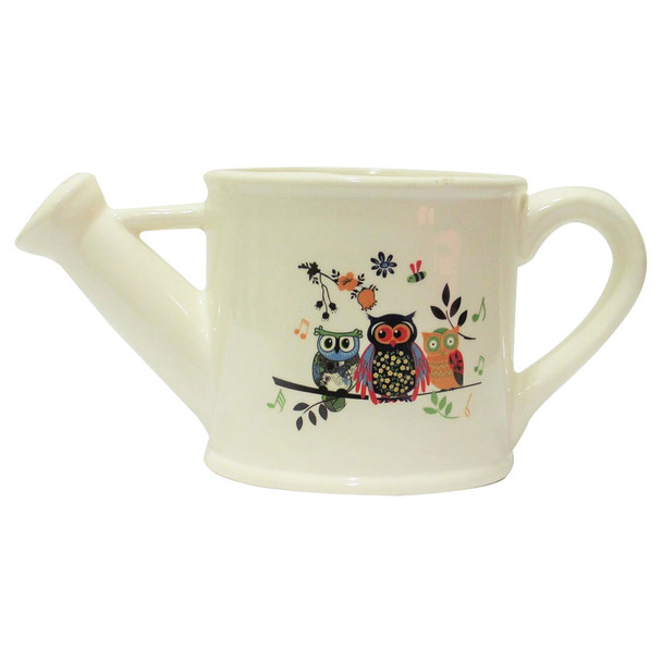 Owls Ceramic Water Can