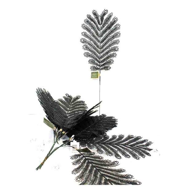 """17"""" Black Peacock Spray"""