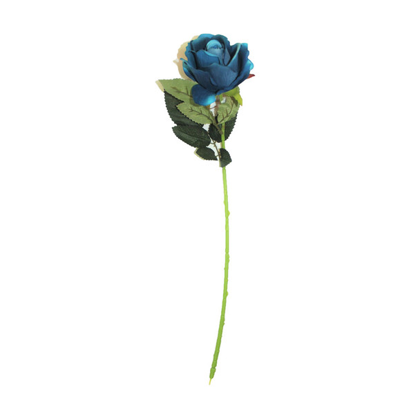 "20"" Blue Velvet Long Stem Single  Rose Flower"