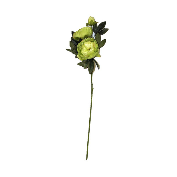 "34"" Green Long Stem Peony Flower"