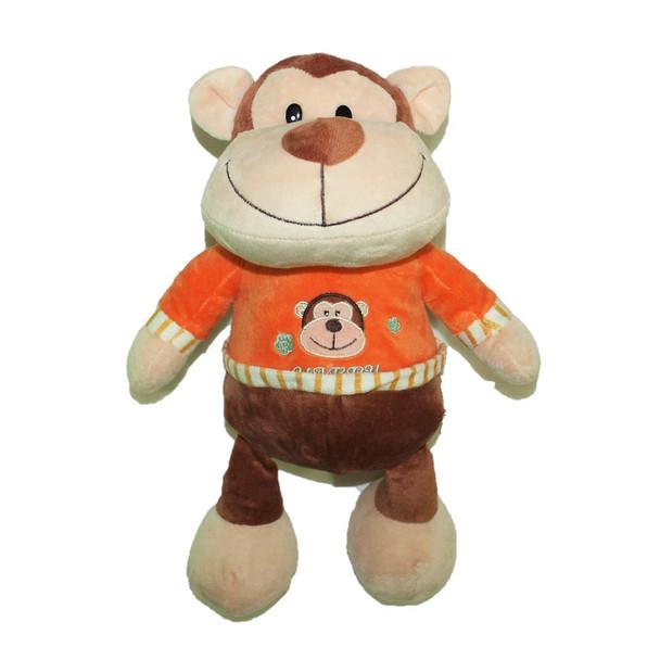 "16"" Happy Monkey. T-Shirt Orange"
