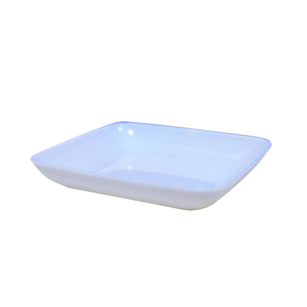 "1/2"" White Mini Dessert Plate 24 PCs/Pack"