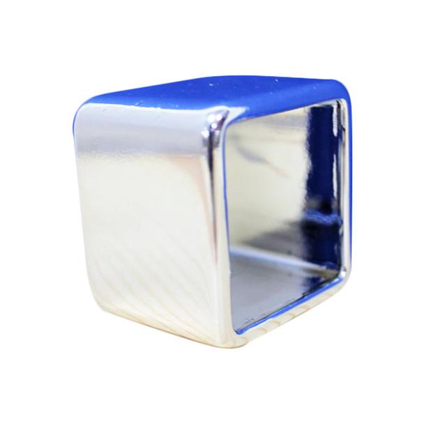 Silver Square Ring Napkin Holder 06 PCs /Pack