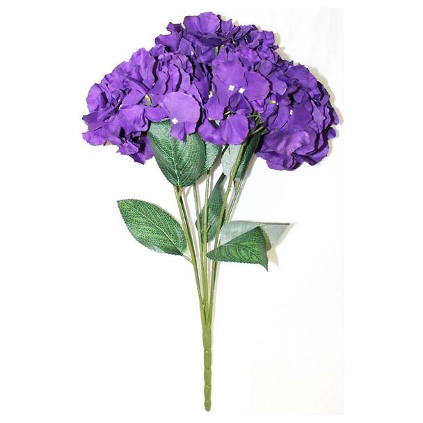 """20""""  Purple Hydrangea Bunch Flower"""
