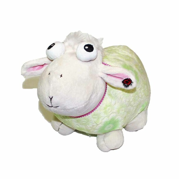 "13"" Green Plush Sheep"