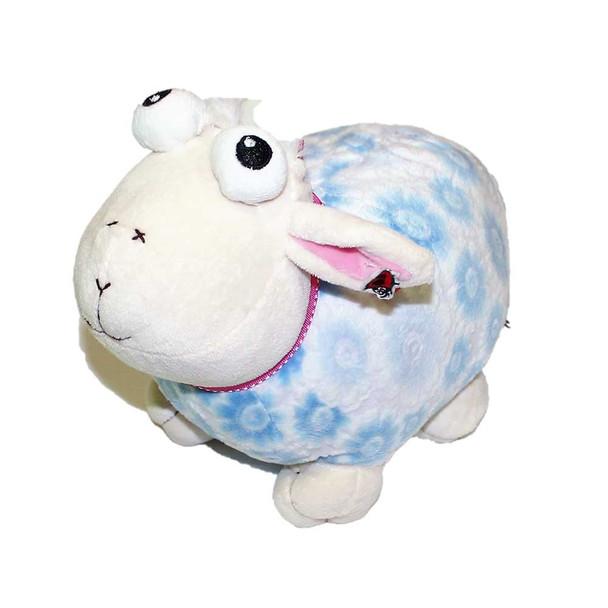 """13"""" Light Blue Plush Sheep"""