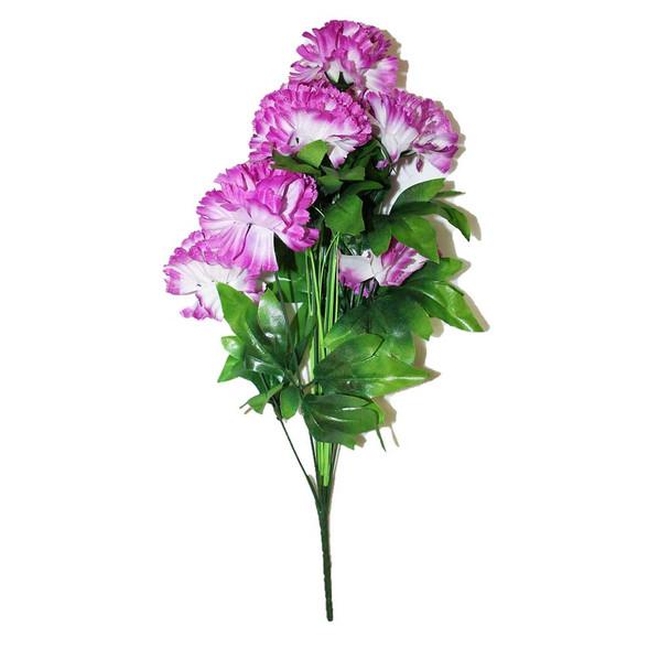 "18"" Purple Carnation Flower"