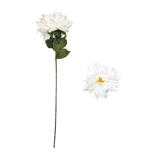"30"" White Long Stem Chrysanthemum Flower"