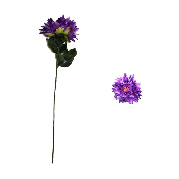 "30"" Purple Long Stem Chrysanthemum Flower"