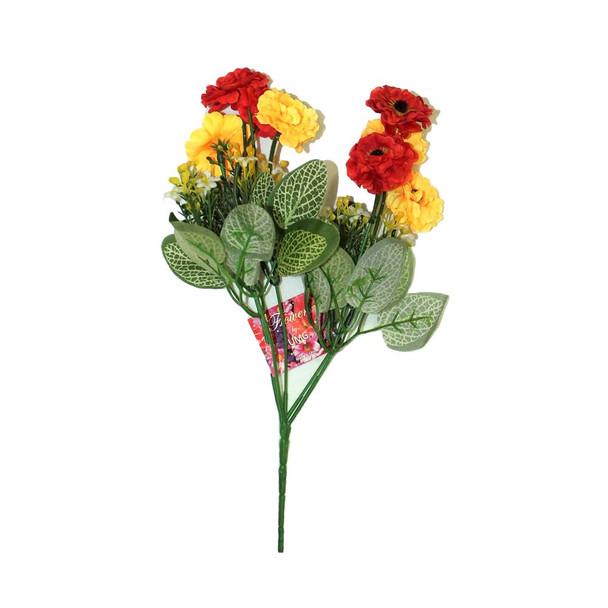 """12"""" Sun-kissed Short Bunch Flower"""