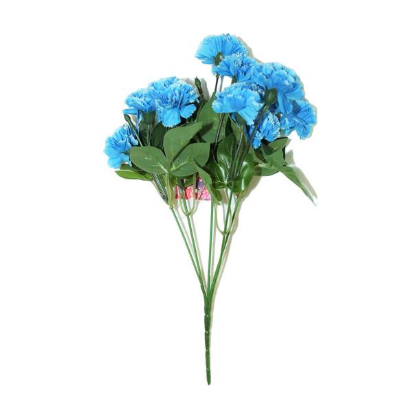 """12"""" Blue Short Bunch Flower"""