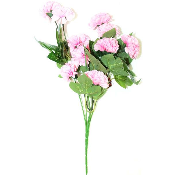 """12"""" Light Pink Short Bunch Flower"""