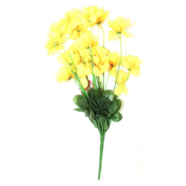 "12"" Yellow And Orange Short Bunch Flower"