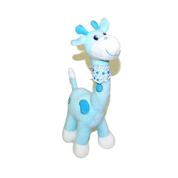 "15"" Blue Cute Giraffe"